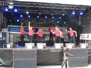 1. Auftritt beim City Fest 2014