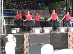 2. Auftritt beim City Fest 2014