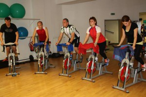 9. Indoor Cycling